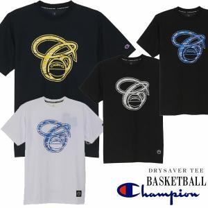 即納可★ 【CHAMPION】チャンピオン DRYSAVER (ドライセーバー) Tシャツ 半袖 バスケットボール メンズ(c3-hb332-16skn)|gainabazar