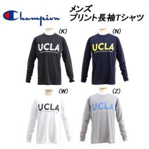 即納可☆ 【Champion】チャンピオン ロングスリーブTシャツ カジュアル 長袖Tシャツ メンズ(cm1927-27sbg)|gainabazar