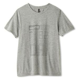 ◆◆□送料無料 メール便発送 <ダンスキン> DANSKIN Tシャツ DB78129 (Z:ミックスグレー) ヨガ・ピラティス(db78129-z-dsk1)|gainabazar
