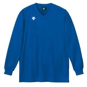 ◆◆○ <デサント> DESCENTE バレーボール V首長袖ゲームシャツ(ユニセックス) アブル DSS4311-ABL(dss4311-abl-des1)|gainabazar