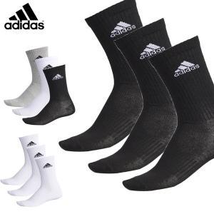 送料無料 メール便発送 即納可☆【adidas】アディダス  3Pソックス 靴下 3足組 EBX94|gainabazar