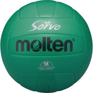 ◆◆ <モルテン> MOLTEN ソフトサーブ 軽量 EV4G (緑) (バレーボール)|gainabazar