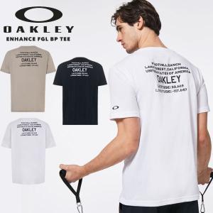 送料無料 メール便発送 即納可★【OAKLEY】オークリー ENHANCE FGL BP TEE バックプリント Tシャツ メンズ トレーニング FOA402512|gainabazar