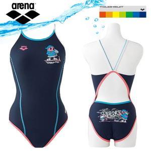即納可☆ 【ARENA】アリーナ 特価 TOUGHSUIT スーパーフライバック ワンピース レディース 競泳練習水着 FSA5605W|gainabazar