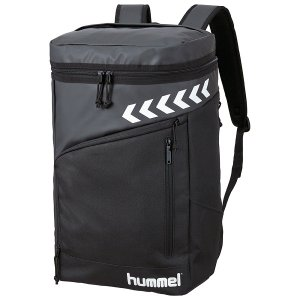 ◆◆ <ヒュンメル> HUMMEL ATHLETE BOX BACKPACK HFB6120 (90:ブラック)|gainabazar