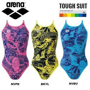 即納可☆【ARENA】アリーナ 特価 タフスーツ スーパーフライバック レディース 競泳練習水着|gainabazar