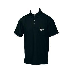 ◆◆□送料無料 メール便発送 <スピード> Speedo ポロシャツ(ユニセックス) SD14S01 (K:ブラック) 水泳(sd14s01-k-spd1)|gainabazar