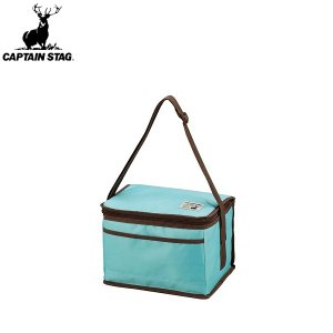 ◆◆ <キャプテン スタッグ> CAPTAIN STAG CSシャルマン クーラーバッグ 6L(ミントグリーン) UE-554|gainabazar