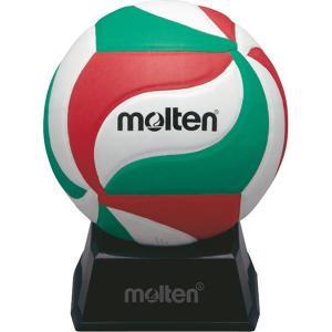 ◆◆ <モルテン> MOLTEN サインボール V1M500 (白×赤×緑) (バレーボール)