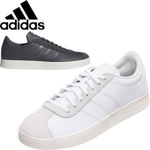 ◆◆ <アディダス> 【adidas】19FW メンズ VL コート 2.0 LEA スニーカー カジュアル シューズ EE6807 F34554|gainabazar