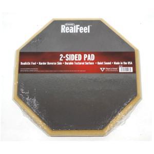 EVANS/Real Feel Double-Sided Practice Pad RF12D 練習用パッド【エバンス】|gakki-de-genki