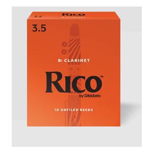 D'Addario Woodwinds /RICO リコ B♭ クラリネット用リード(10枚入り)【ダダリオ ウッドウィンズ/リコ】 gakki-de-genki