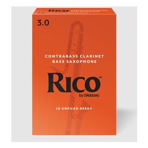 D'Addario Woodwinds /RICO コントラバスクラリネット、コントラアルトクラリネット,バスサックス用リード(10枚入り)【ダダリオ ウッドウィンズ/リコ】 gakki-de-genki