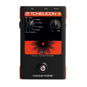 TC-Helicon/ボーカル用エフェクター VoiceTone R1【ティーシーヘリコン】|gakki-de-genki