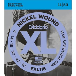 D'addario エレキ弦 EXL116【メール便OK】|gakki-de-genki