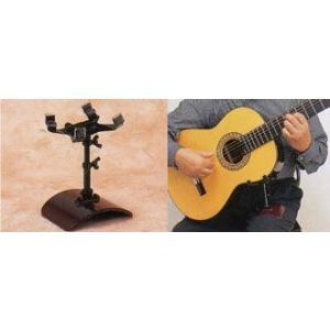 ギターレスト/GR-2(ネジ式)ブラック ギターサポート