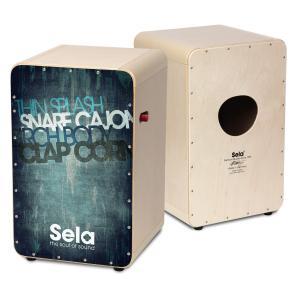 Sela/カホン CaSela Pro Vintage Blue SE 082【セラ】|gakki-de-genki