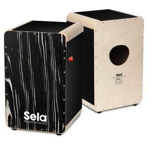 Sela/カホン Wave Pro Black Makassar SE 030【セラ】|gakki-de-genki