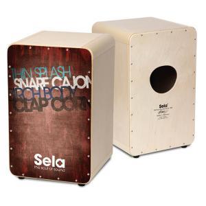 Sela/カホン CaSela Vintage Red SE 076 【セラ】|gakki-de-genki