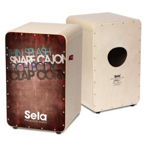 Sela/カホン CaSela Pro Vintage Red SE 080【セラ】|gakki-de-genki