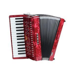 27鍵・32鍵共F1より始まる広い低音域を持つアコーディオンです。   合奏での最低音を受け持つ重要...