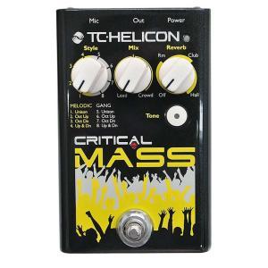 TC-Helicon/Critical Mass ボーカル用エフェクター 【ティーシーヘリコン】|gakki-de-genki