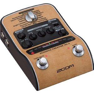 ZOOM/AC-2 Acoustic Creator アコースティックギター用プリアンプ【ズーム】