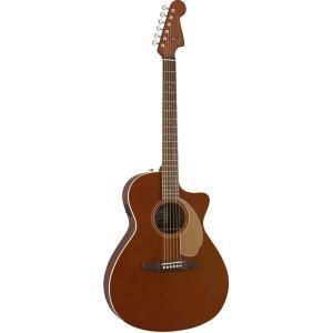 Fender フェンダー Newporter Player Rustic Copper アコースティックギター エレアコの商品画像|ナビ