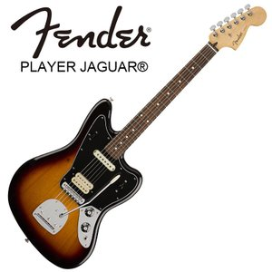 Fender Player Jaguar 3-Color Sunburst【フェンダージャガー】【正...