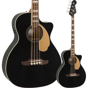 Fender Kingman Bass, Walnut Fingerboard, Black【フェン...