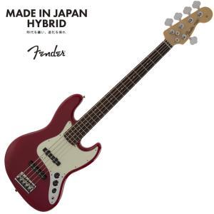 Fender Made in Japan Hybrid Jazz Bass V  Torino Re...
