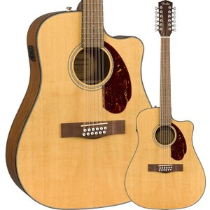 Fender CD-140SCE 12-String Walnut Fingerboard Natu...