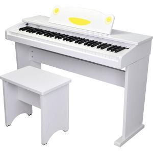 Artesia/デジタルピアノ FUN1 61 鍵盤キッズピアノ ホワイト【アルテシア】【電子ピアノ】 gakki-de-genki