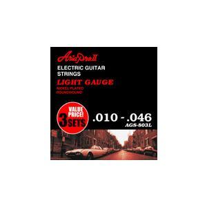 ARIA エレキギター弦 3セットパック/AGS-803L
