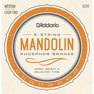 D'addario/マンドリン弦/EJ74 Mandolin/Meduim/Phospor Bronze【メール便OK】|gakki-de-genki