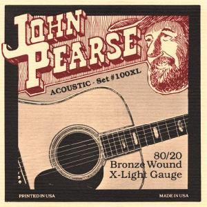 JOHN PEARSE 80/20ブロンズ弦