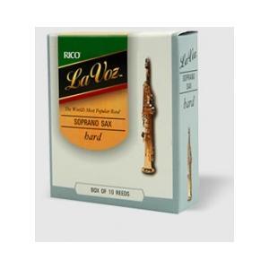 D'Addario Woodwinds /RICO ラ・ヴォーズ ソプラノサックス用リード(10枚入り)【ダダリオ ウッドウィンズ/リコ】 gakki-de-genki
