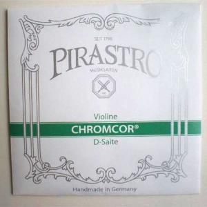 [PIRASTRO CHROMCOR]ピラストロ クロムコア バイオリン弦 3D バラ弦 [4/4〜1/32]|gakki-mori