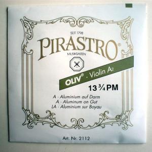 [PIRASTRO Oliv]ピラストロ オリーブ バイオリン ガット弦 2A バラ弦|gakki-mori