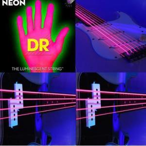 エレキギター弦光る弦エレクトリック・ギター弦ヘックス・コア/K3 NEON PINK DR-NPEエレキ弦|gakkidonya3