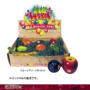 Remo シェイカー レモ社 フルーツアソート9ヶ  フルーツシェーカー gakkidonya3