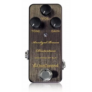 【One Control(ワンコントロール)】【ディストーション】Anodized Brown Distortion  アノダイズドブラウンディストーション|gakkiland-thanks