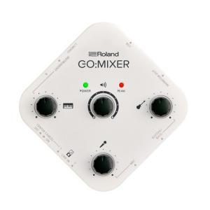ROLAND GO:MIXER スマートフォン用 オーディオミキサー  軽量、コンパクト、簡単操作の...
