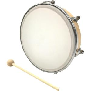 【Kyoritsu(キョーリツ)】木製ハンドドラム 撥付き 21cm HDN-21|gakkiland-thanks