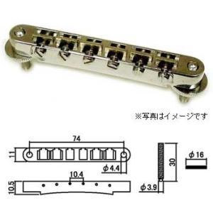 【パーツ】【SCUD(スカッド)】T.O.M ブリッジ  ABR-1タイプ ニッケル HK-25N(HK25N)|gakkiland-thanks