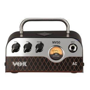 【VOX(ボックス)】【ギターヘッドアンプ】新真空管Nutube搭載 ギター・アンプ・ヘッド MV50 AC タイプ|gakkiland-thanks