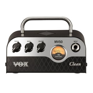 【予約注文】【VOX(ボックス)】【ギターヘッドアンプ】新真空管Nutube搭載 ギター・アンプ・ヘッド MV50 Clean タイプ|gakkiland-thanks