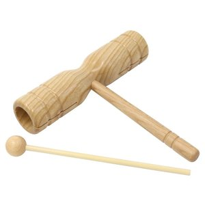 【Kyoritsu(キョーリツ)】ウッドブロック Hand Wood Block OP-HWB01 (ウッドビーター付き) gakkiland-thanks