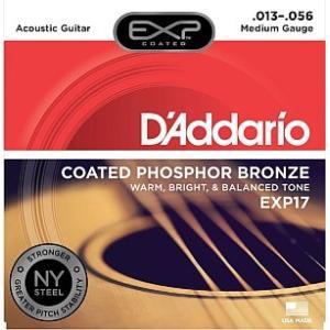 【メール便可!】【ダダリオ アコースティックギター弦】EXP17(EXP-17)