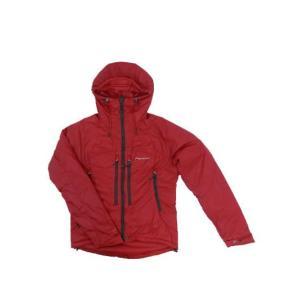 モンテイン MONTANE モンテイン  FLUX JACKET  軽量で暖かい中綿 フラックスジャケット アルパインレッド gaku-shop
